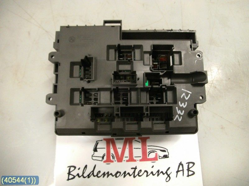 fuse box electricity central bmw 1 series 08 w40544. Black Bedroom Furniture Sets. Home Design Ideas