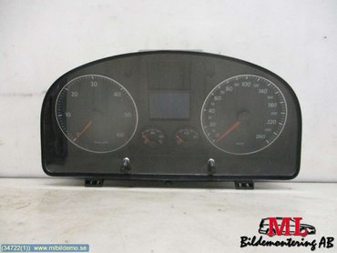 Combined Instrument - VW Touran -08 1T0920864A 1T0920864A