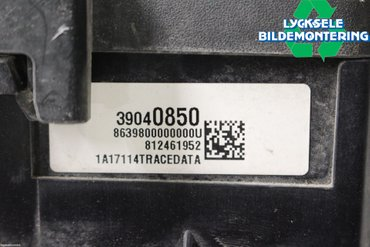 Fuse box / Electricity central - Opel Astra -17 39040850 -
