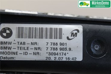 Automatic coolers - BMW 3-Series -07 17117788903 - 7788901