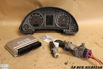 Steering wheel lock / Ignition lock - Audi A4, S4 -02 8E0920900H 8E0909518M 4B0905851C
