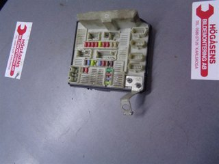 fuse box / electricity central - renault megane ii 06-08 renault megane 07 fuse box