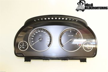 Combined Instrument - BMW 5-Series -12 62109358981
