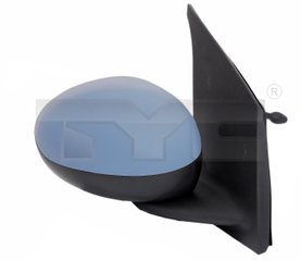 Rearview mirror adjustable - Peugeot 107 -