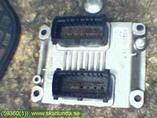 Injection Control unit - Opel Corsa, Corsa-E -00  0 261 207 423