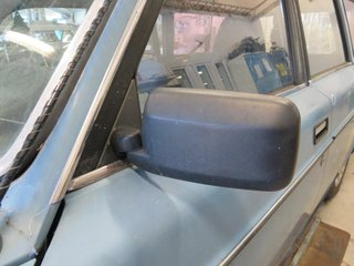 Rearview mirror adjustable - Volvo 240 -82 1255684