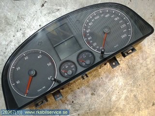 Combined Instrument - VW Caddy -09 1T0920854C 110080377/007