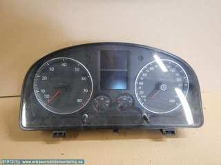 Combined Instrument - VW Touran -05  1T0920861