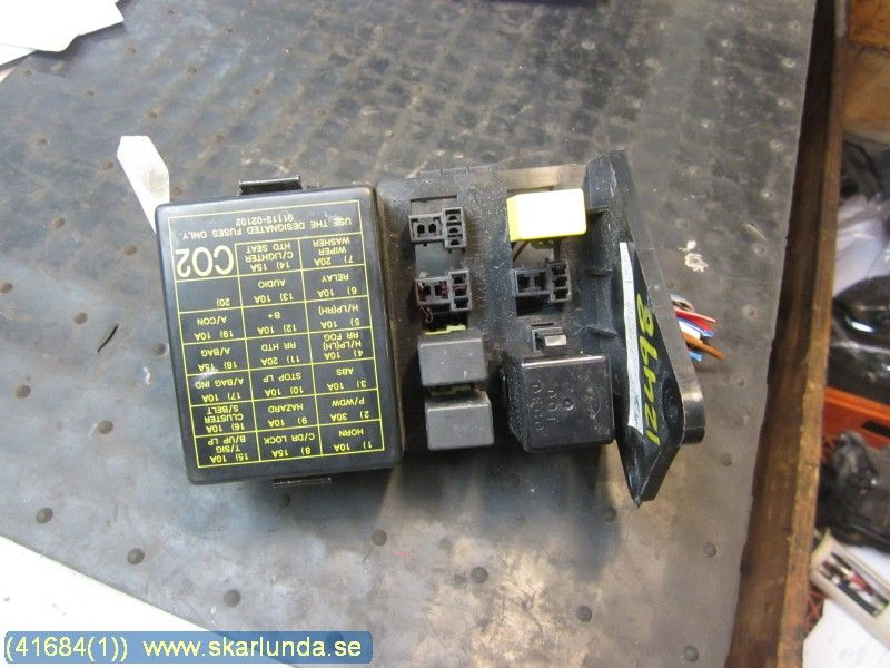 fuse box / electricity central - hyundai atos -99 - -