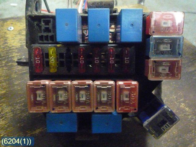 fuse box / electricity central - hyundai atos -06 91211-02000 91211-02000